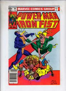 Power Man and Iron Fist #84 (Aug-82) VF High-Grade Luke Cage, Iron Fist