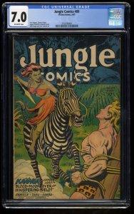 Jungle Comics #89 CGC FN/VF 7.0 Off White
