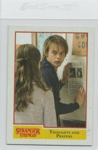 Stranger Things Thoughts And Prayers 23 Topps Netflix 2018 Season One trading
