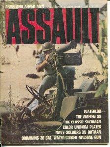 Assault #2 9/1970-Challenger-Waterloo film preview-Navy soldier on Bataan-FN