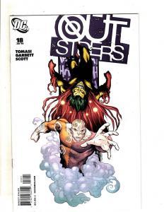 Lot Of 11 Outsiders DC Comic Books # 18 19 24 29 30 31 32 34 36 37 38 MF13