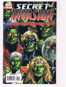 Secret Invasion #1 VF/NM Marvel Comics One-Shot Comic Book Avengers 2008 DE48