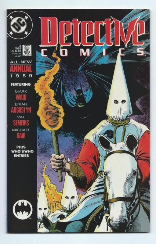 DETECTIVE #2 Annual, VF/NM, Batman, KKK, 1989, Gotham City,more DC in store