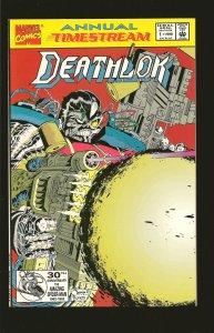 Marvel Comics Deathlok Annual #1 (1992)
