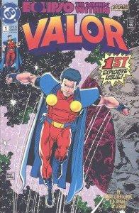 Valor (1992 series) #1, NM (Stock photo)
