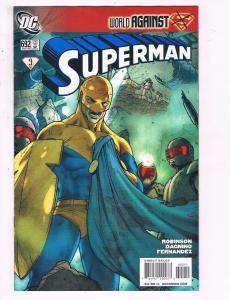 Superman #692 VF DC Comic World Against Superman Comic Book Robinson 2009 DE11