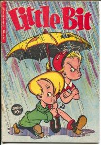 Little Bit #2 1949-Jubilee-golf story-final issue-broken umbrella-G-