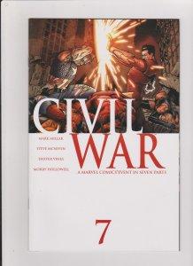 CIVIL WAR #7 VF/NM 2006 MARVEL COMICS
