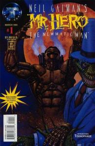 Neil Gaiman's Mr. Hero - The Newmatic Man (1995 series) #1, NM- (Stock p...