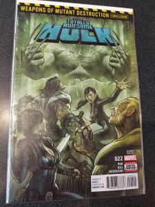 Totally Awesome Hulk 22  1st Appearance of Weapon H LOW PRINT