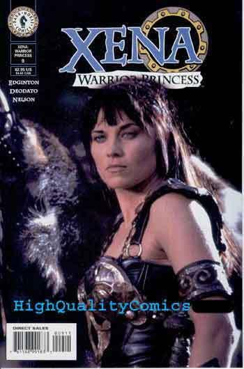 XENA Warrior Princess #9, NM+, Photo cv, Lucy Lawless, 2000