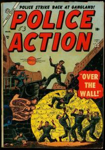 Police Action #2 1953- Prison break cover- Atlas Crime- VG