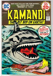 KAMANDI #23, VF, Jack Kirby, Last Boy on Earth, 1972, VFN, more in store