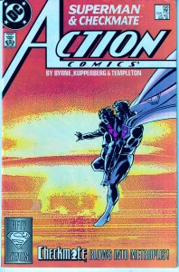 Action Comics(vol. 1) # 598  1st Appearance of Checkmate !