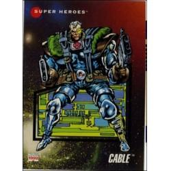 1992 Marvel Universe Series 3 CABLE #50