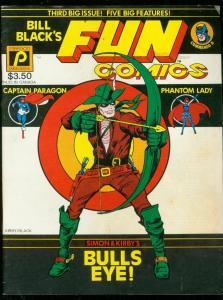 BILL BLACK'S FUN COMICS #3 1982-JACK KIRBY-PHANTOM LADY VG
