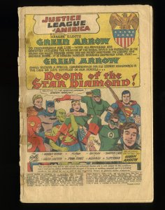 Justice League Of America #4 Coverless Complete! Green Arrow Joins!