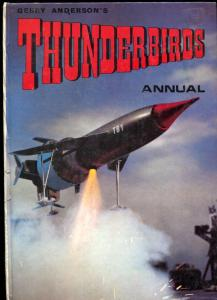 Thunderbirds Annual UK hardback 1967- Gerry Anderson