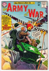 Our Army at War #140 (Mar-64) VG Affordable-Grade Easy Company, Sgt. Rock