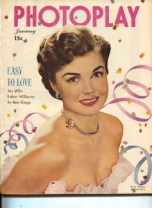 Photoplay-Esther Williams-Betty Grable-Lana Turner-June Allyson-Jan-1949