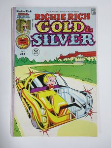 RICHIE RICH GOLD AND SILVER #4 (Harvey,3/1976) VERY GOOD (VG)