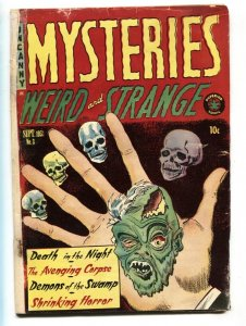 Mysteries #3 1953-Superior-pre-code horror-swamp demon-G-