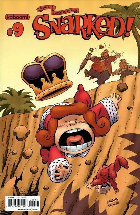 SNARKED #9-12 SET OF FOUR COVERS NEAR MINT KABOOM.