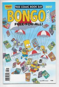 FCBD Bongo Free For All #1 The Simpsons (2017) NM