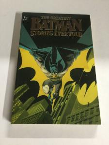 Greatest Batman Story Ever Vol 2 Nm Near Mint DC Comics SC TPB