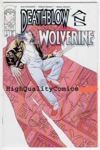 DEATHBLOW & WOLVERINE #1, NM+, X-Men, 1996, Claws, Blood