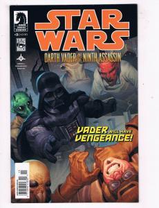 Star Wars: Darth Vader & The Ninth Assassin #3 VF/NM Dark Horse Comic Book DE45