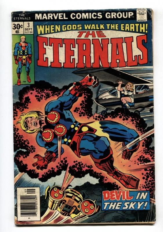 THE ETERNALS #3 Jack Kirby 1st Sersi-Comic Book Marvel 1976
