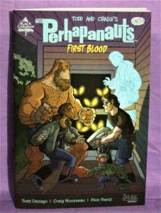 Todd Dezago THE PERHAPANAUTS First Blood #1 Webstore Exclusive (Scout, 2020)!