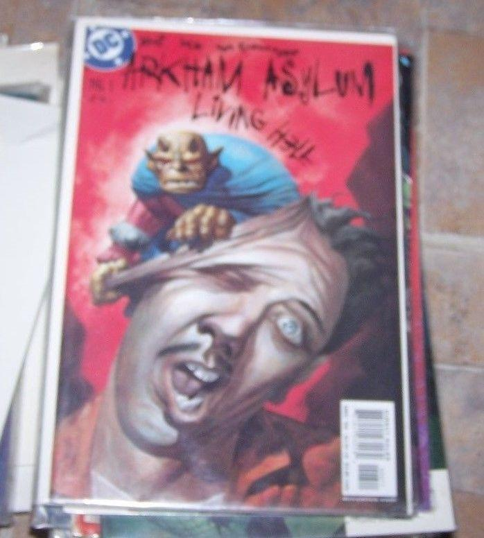 Arkham Asylum: Living Hell #6 (Dec 2003, DC) BATMAN THE DEMON ENTRIGAN