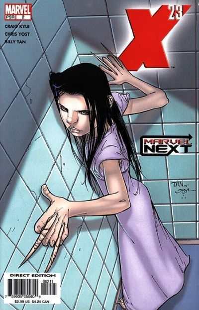 X-23 (2005 series) #2, NM- (Stock photo)