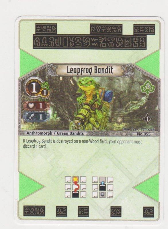 2007 Eye of Judgement #155 Leapfrog Bandit