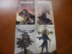 4 Near-Mint Image Comic WITCHFINDER #1 #1 (Variant) #2 #3 (1999) Scott Romano