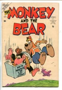 MONKEY AND THE BEAR #1-1953-HOWIE POST ART-PARACHUTE COVER-SOUTHERN STATES-fn-
