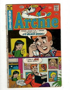 8 Comics Archie 249 Riverdale High 97 Everything's Archie 112 Time Police 6+ SB3