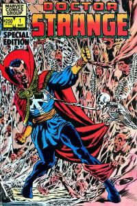 Doctor Strange (1974 series) Silver Dagger Special Edition #1, VF+ (Stock photo)