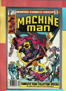 Machine Man #19