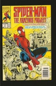 Marvel Comics Spider-Man The Arachnis Project Vol 1 No 1 August 1994