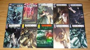 DarkMinds: Macropolis #1-4 VF/NM complete series + vol. 2 #1-4 + (9) variants