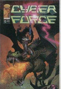 Cyberforce 1a serie numero 12: Maquinas de muerte