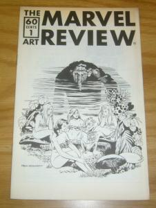 Marvel Art Review, The #1 FN; Marvelous Art Comics | save on shipping - details