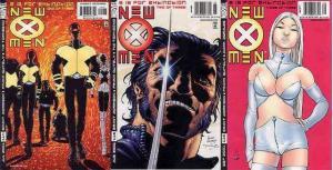 X MEN  (1991) 114-116 E Is For Extinction  VG-F
