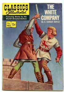 Classics Illustrated 102 (Original) Dec 1952 VG+ (4.5)