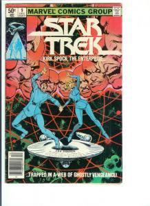 Star Trek #9 - Bronze Age - Dec., 1980 (FN+)