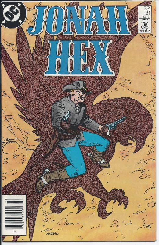 Jonah Hex #81 - Copper Age - (VF+) Feb, 1984