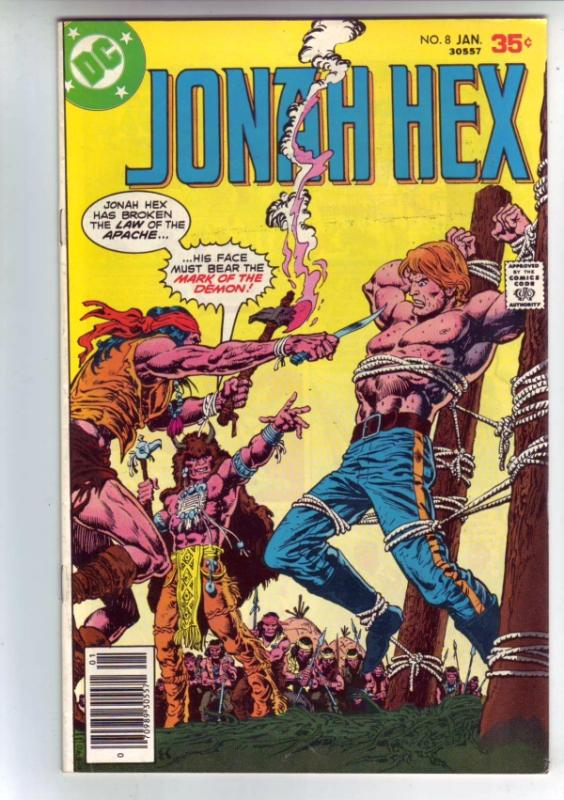 Jonah Hex #8 (Jan-78) VF/NM- High-Grade Jonah Hex